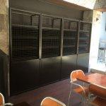 Bennys Bar Freo - wine cage