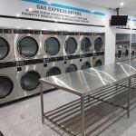 Byford Laundromat SS bench
