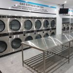 Byford Laundromat Stainless Steel bench
