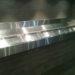 Open Stainless Steel Seafood Display