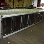 8 Door Under Bench Custom Bar Fridge