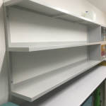 Powder Coated Custom Shelving - Murdoch Uni