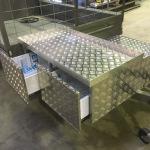 Aluminium Chequerplate Trailer