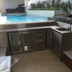 Stainless Steel Outdoor Bar
