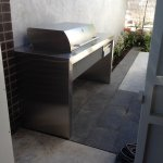 Stainless Steel BBQ & Bench