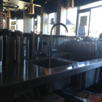 Cafe-Royal-Stainless-steel-benches-welded-in-sink-www.coolsteelfabrication.com_.au_